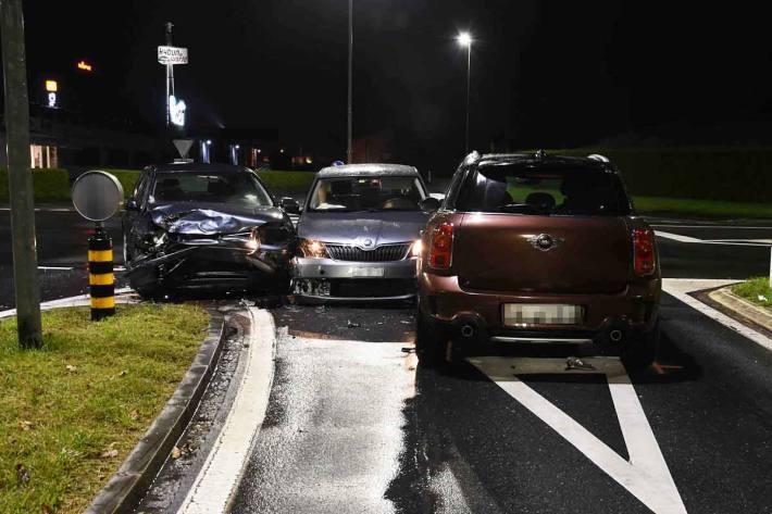 Unfall in Sennwald