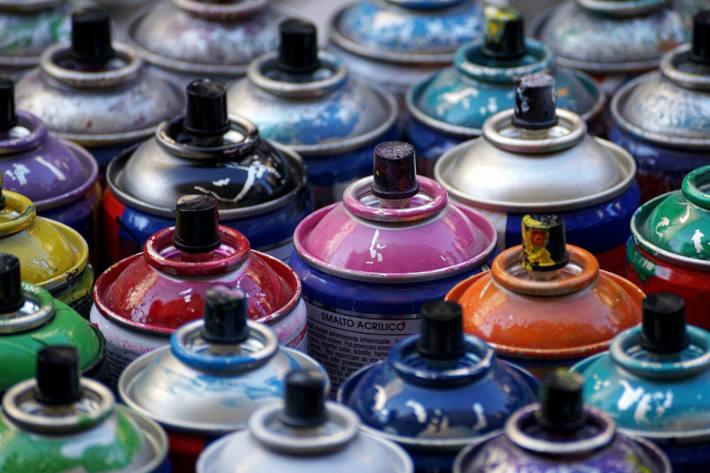 Über 250'000 Franken Schaden durch einen Sprayer verursacht. (Symbolbild)