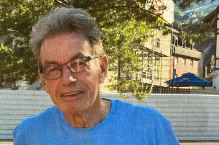 Bild des vermissten 68-Jährigen