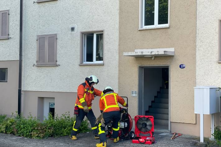Ein 22-Jähriger wurde gestern bei einer Verpuffung in St. Gallen verletzt.