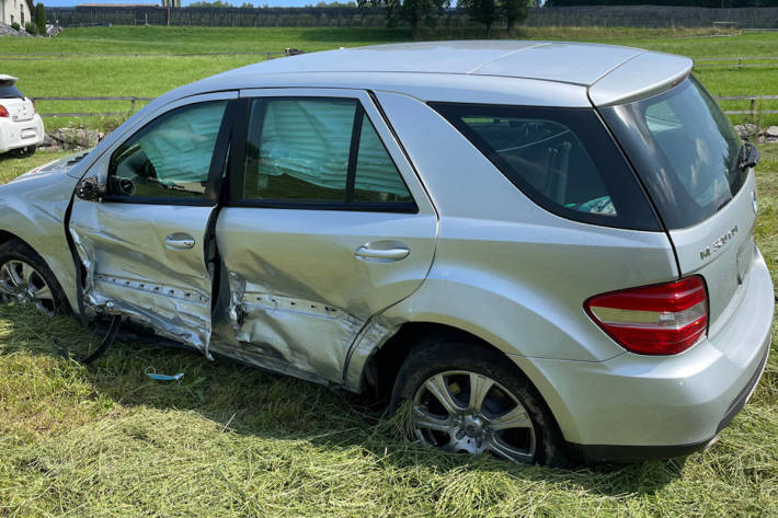 Verkehrsunfall in Wauwil LU