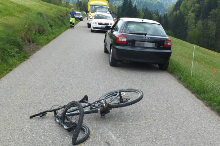 Der Autofahrer konnte ausweichen.