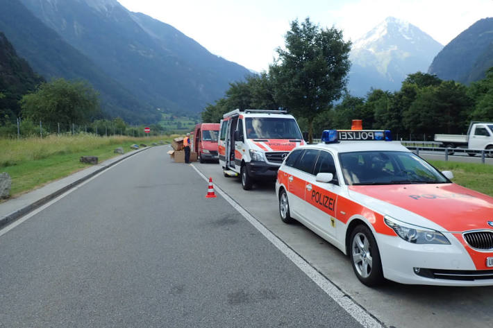 Symbolbild mobile Schwerverkehrskontrolle im Kanton Uri