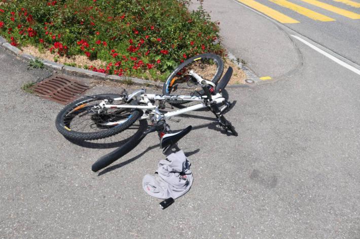 Unfallstelle in Appenzell