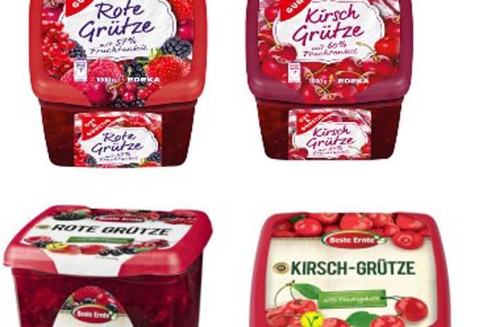 """Hersteller ruft """"Rote Grütze"""" und """"Kirsch Grütze"""" via EDEKA und Netto Marken-Discount zurück"""