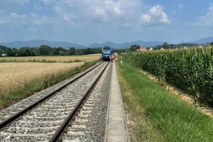Tödlicher Zugunfall in St. Ruprecht an der Raab