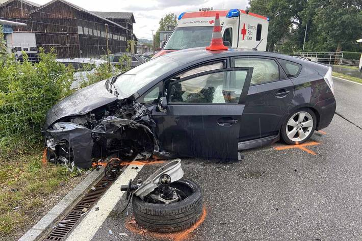 Schwerer Unfall in Rekingen