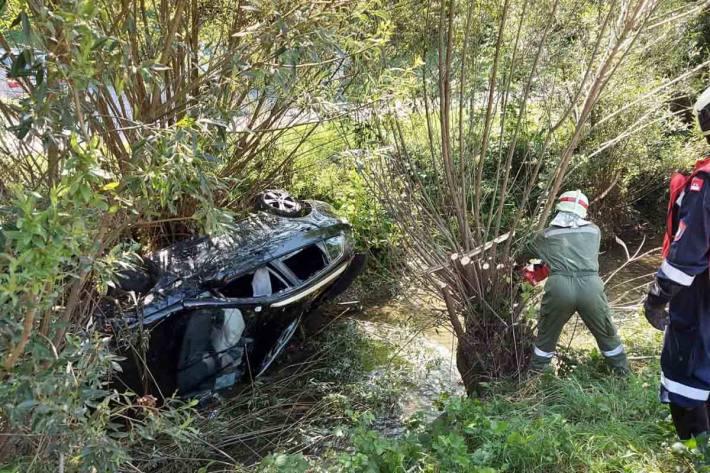 Unfall in Rotheau