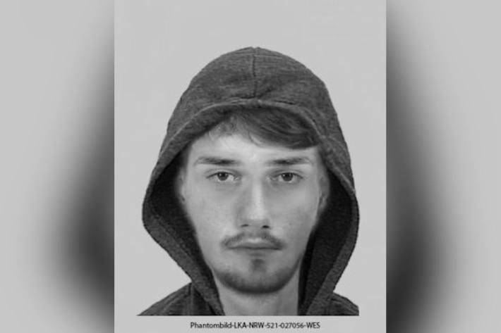 Bild des mutmaßlichen Vergewaltigers aus Münster