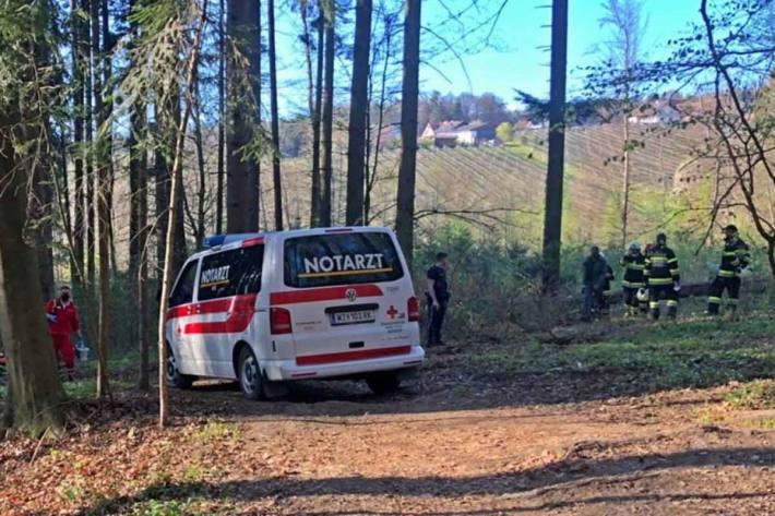 Bei einem Arbeitsunfall in Sankt Ruprecht an der Raab wurde ein Mann schwer verletzt