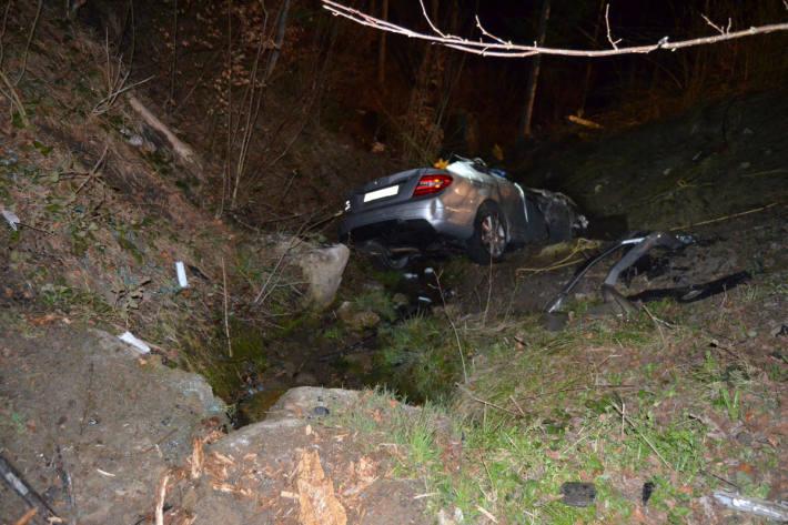 Beifahrerin bei Unfall verstorben in Trogen