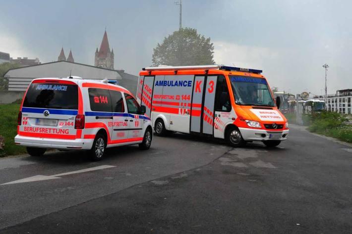 Unfall mit mehreren Verletzten in Moosburg (Symbolbild)