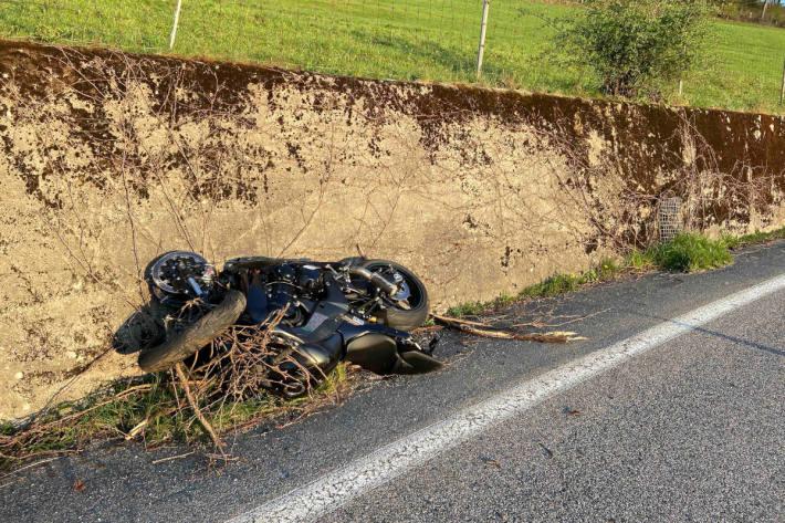 Motorradfahrer bei Unfall verletzt in Oberhof