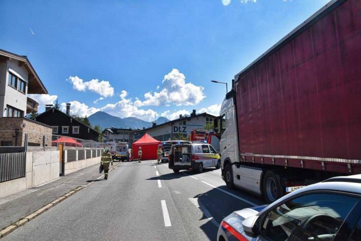 Tödlicher Verkehrsunfall in Kitzbühel