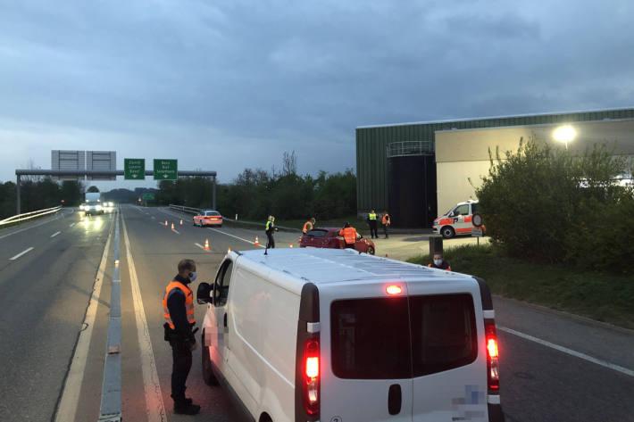 Im Kanton Solothurn wurden dabei rund 500 Personen und rund 430 Fahrzeuge kontrolliert