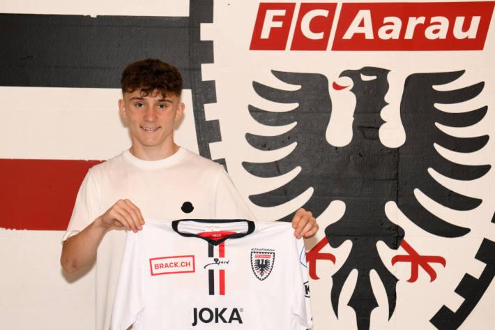 Samuel Krasniqi beim FC Aarau