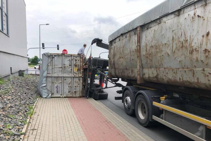 Es kam zu Verkehrsbeeinträchtigungen im Bereich der Unfallstelle in Unna
