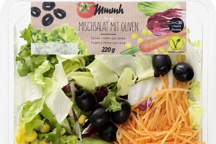 Denner ruft diverse Salatartikel zurück.