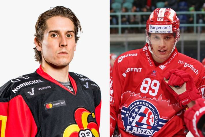 Steve Moses (l.) und Nando Eggeberger (r.)