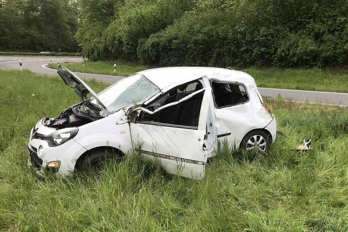 Im Einsatzverlauf in Dorsten stellte sich heraus, dass der Verunfallte keine gültige Fahrerlaubnis besitzt