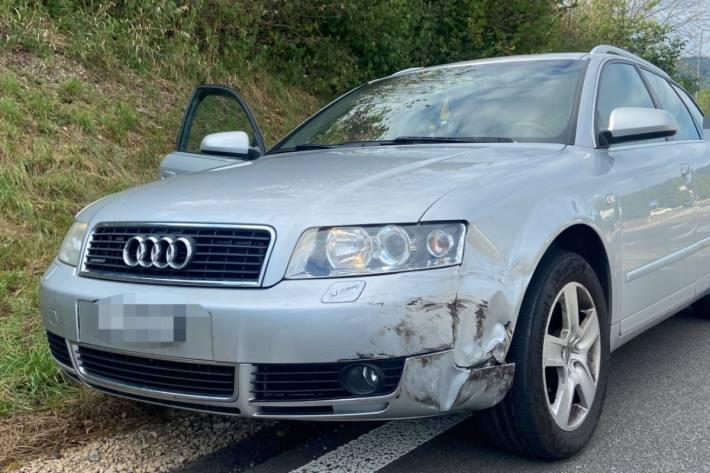 In Eiken AG kam es gestern zu einem Verkehrsunfall.