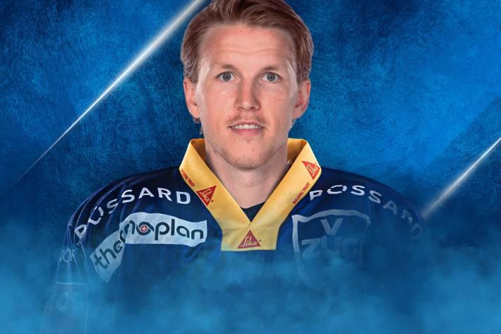 Niklas Hansson spielt in Zukunft für den EVZ.