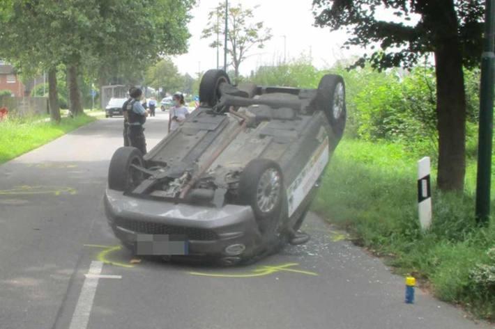 Schwerer Unfall in Sindorf