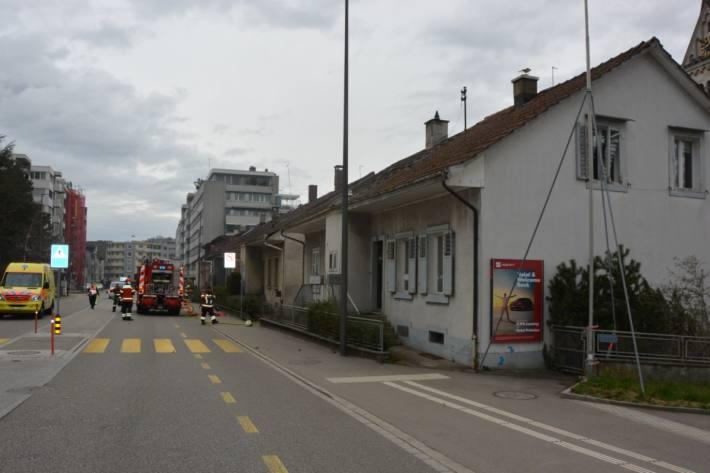 Die Brandursache für das Feuer heute in einem Reiheneinfamilienhaus in Olten wird untersucht.