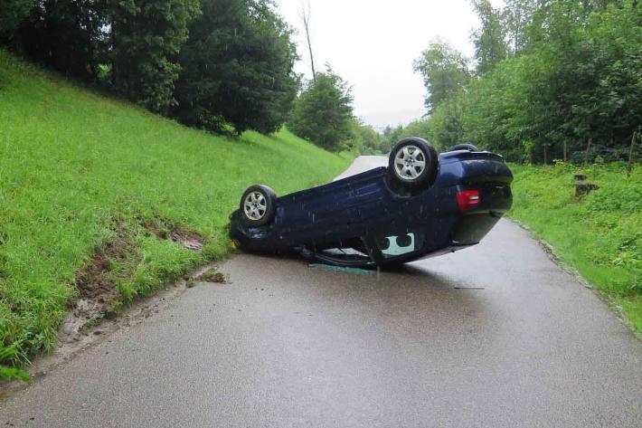 Unfall in Münchenstein