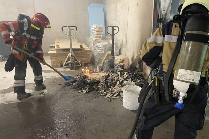 Letzte Nacht brannte es in Frenkendorf BL.