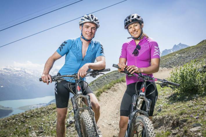 Wendy Holdener mit Partner Nico Caprez