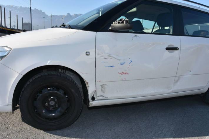Der Autofahrer übersah das Motorrad.