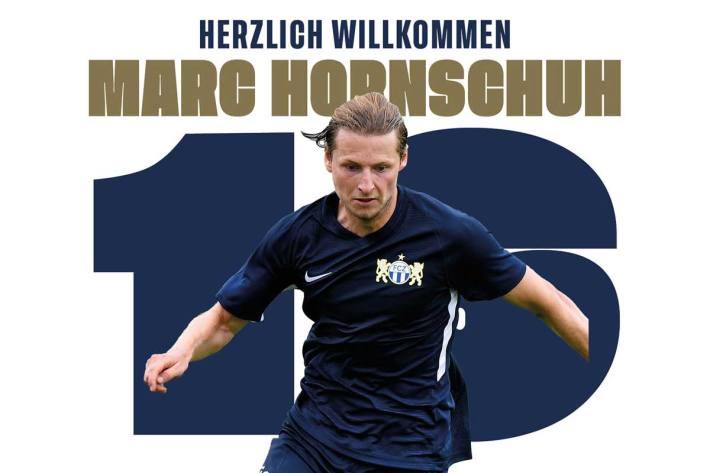 Beim FCZ wird Hornschuh die Trikotnummer 16 tragen