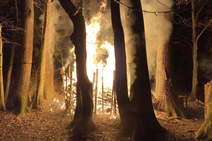 Brand auf Waldspielplatz in Sissach richtet hohen Schaden an