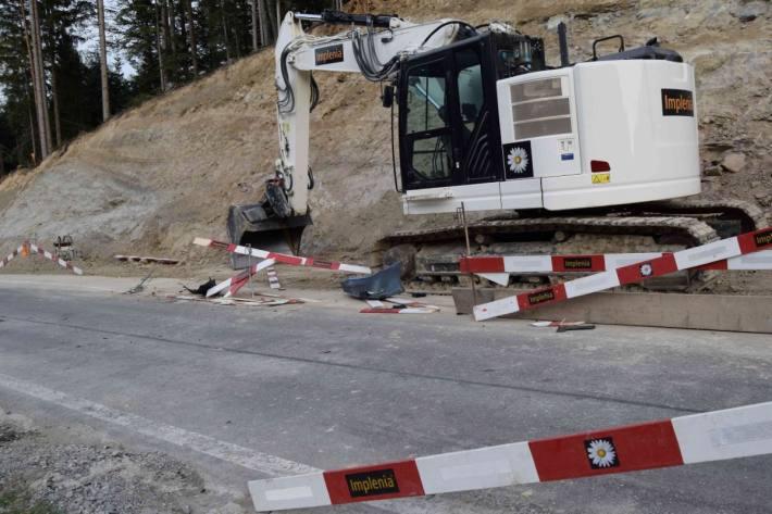 In Walzenhausen AR ist gestern ein Autolenker verunfallt.