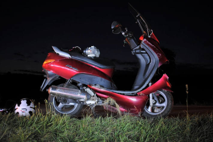 Sturz eines Motorradfahrers in Siblingen