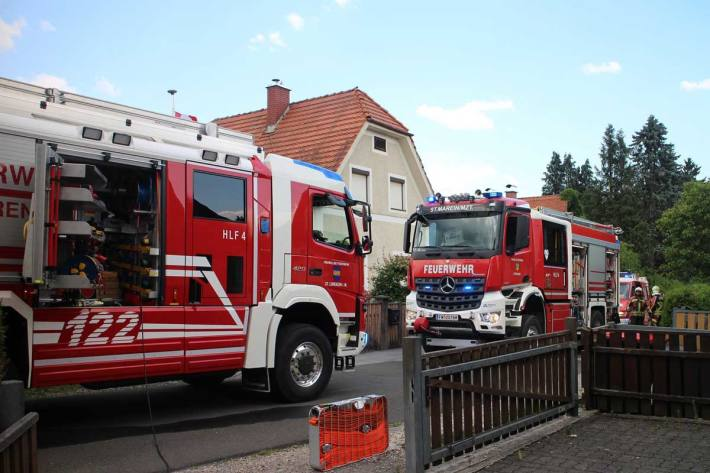 Küchenbrand in St. Marein im Mürztal