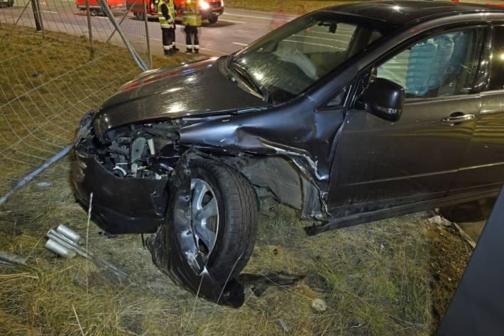 In Emmenbrücke LU kam es gestern zu einem Unfall mit zwei verletzten.