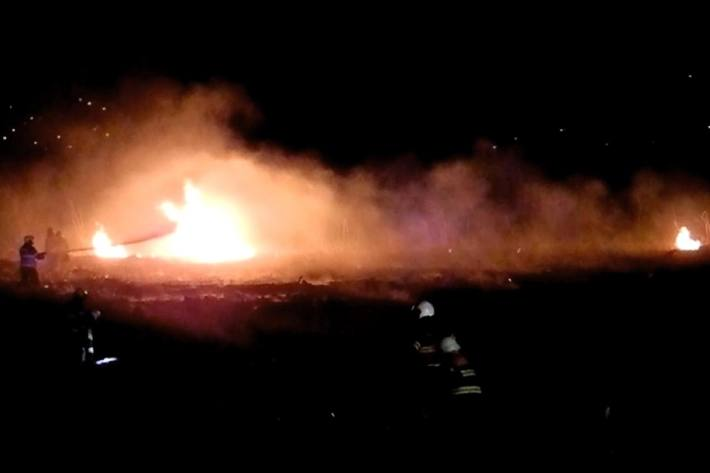 In Willerzell SZ kam es gestern zu einem Flächenbrand.