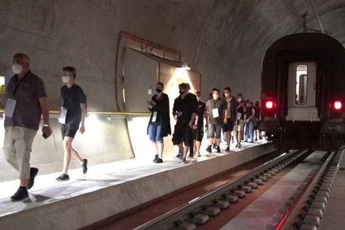 Grosse Rettungsübung im Simplon-Tunnel am nächsten Sonntag 12.09.2021.