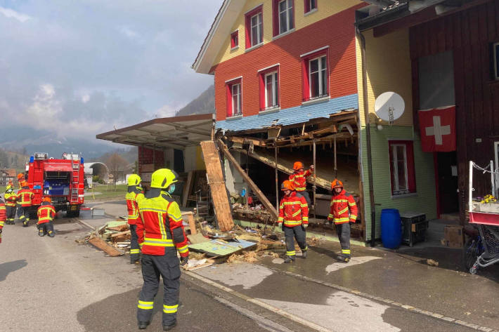 Explosion in Alt St. Johann