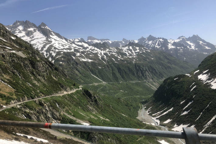 Der Sustenpass verbindet das Urnerland mit dem Kanton Bern.