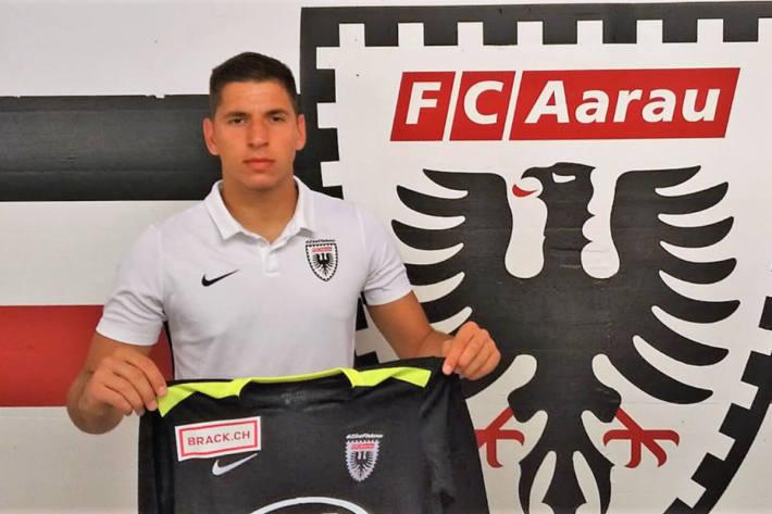 Nikolic wird neu für den FC Aarau das Tor hüten
