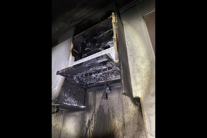 Brandschaden nach Küchenbrand in Birr AG