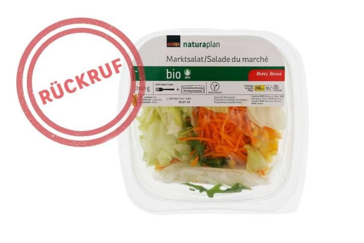 Dieser Salat wird von Coop zurückgerufen.