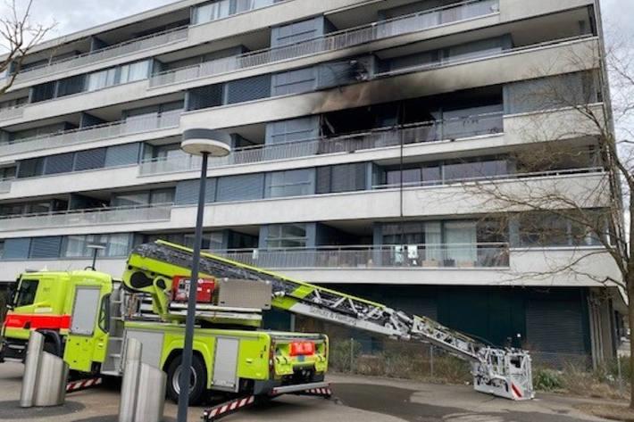 Mehrere Brände in Zürich