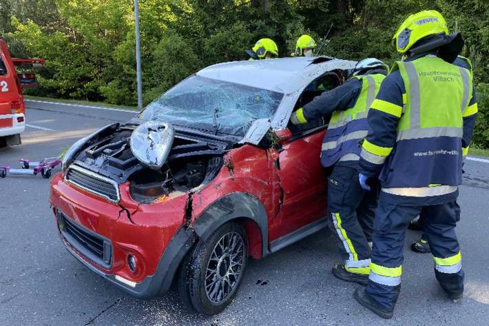 Unfall in Villach