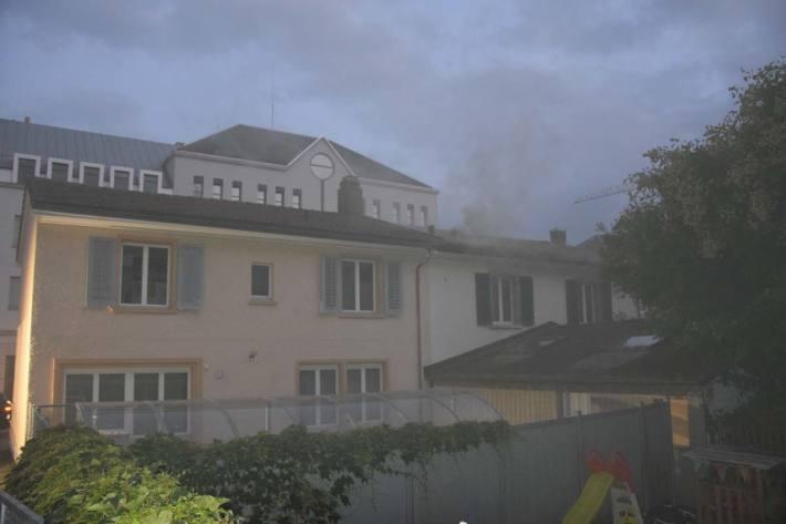 Die Brandursache wird in Solothurn untersucht
