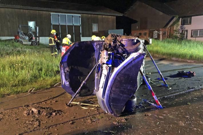 In Alberswil LU ist gestern Abend ein schwerer Unfall passiert.