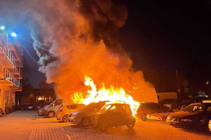 Personen wurden in Pratteln bei diesem Brand keine verletzt